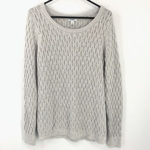Old Navy Honeycomb Knit Sweater